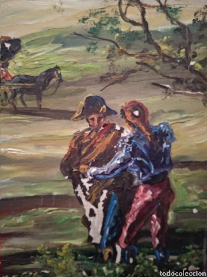 Arte: Antiguo cuadro al óleo - Foto 9 - 210611115