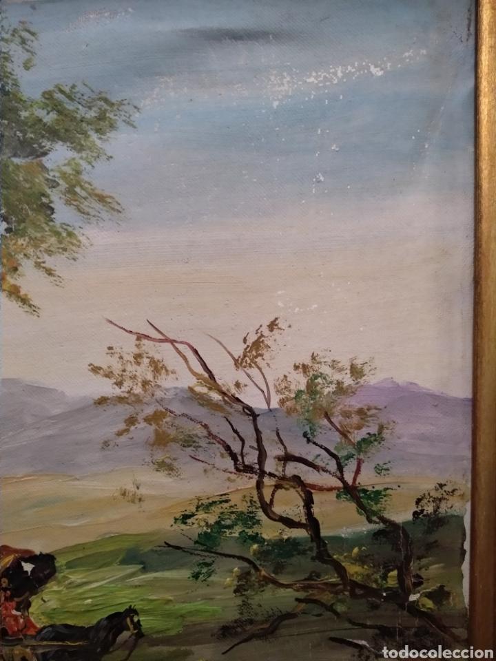 Arte: Antiguo cuadro al óleo - Foto 10 - 210611115