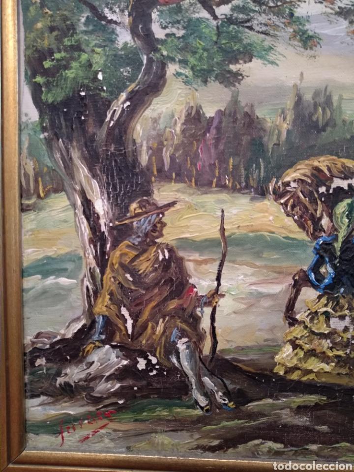 Arte: Antiguo cuadro al óleo - Foto 13 - 210611115