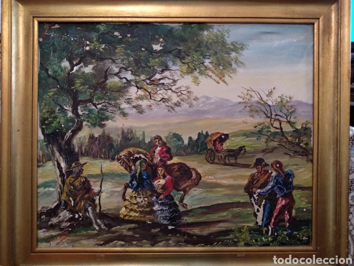 ANTIGUO CUADRO AL ÓLEO (Arte - Pintura - Pintura al Óleo Antigua sin fecha definida)