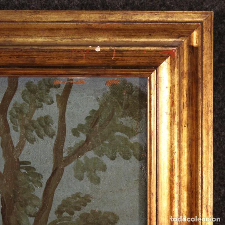Arte: Pintura italiana antigua Cymon e Ifigenia del siglo XVIII - Foto 8 - 210633977