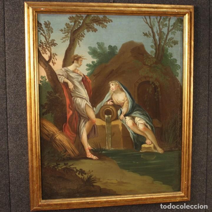 Arte: Pintura italiana antigua Cymon e Ifigenia del siglo XVIII - Foto 9 - 210633977