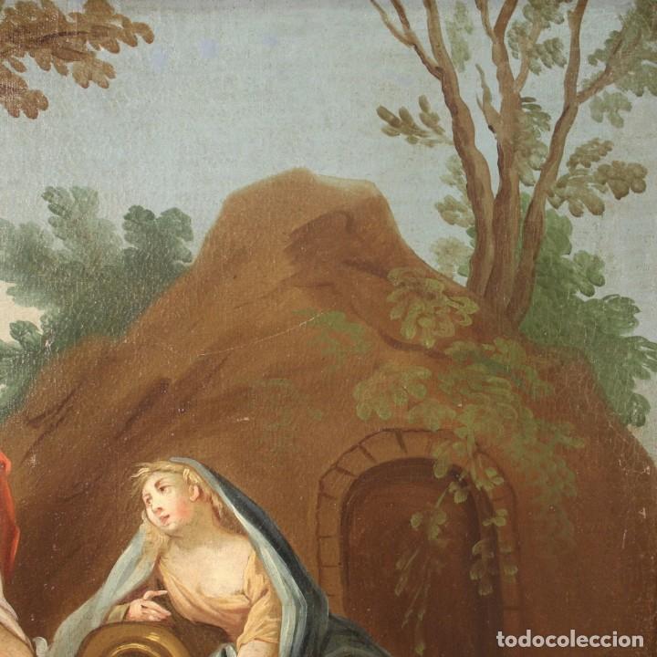 Arte: Pintura italiana antigua Cymon e Ifigenia del siglo XVIII - Foto 10 - 210633977