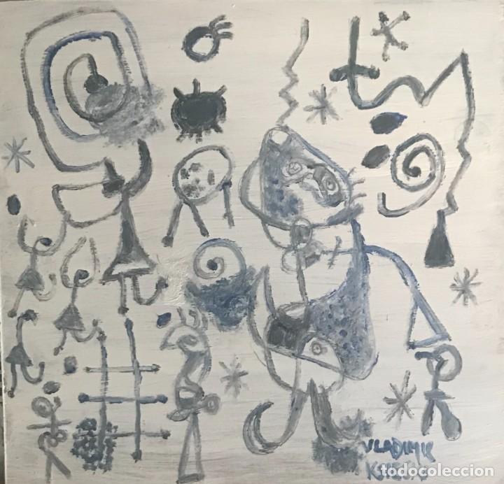 DIBUJO MIRO HOMENAJE (2) (Arte - Pintura Directa del Autor)