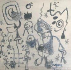 Arte: DIBUJO MIRO HOMENAJE (2). Lote 207651133
