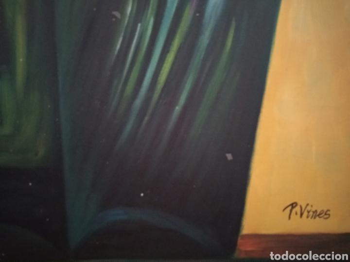 Arte: Óleo sobre lienzo - Foto 4 - 210695490