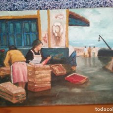 Arte: ANTIGUO CUADRO PINTURA SOBRE LIENZO. Lote 210766387