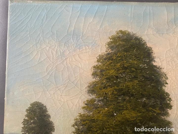 Arte: Hans Berger , SUIZA , ÓLEO LIENZO , SWISS , OIL PAINTING - Foto 4 - 189504738