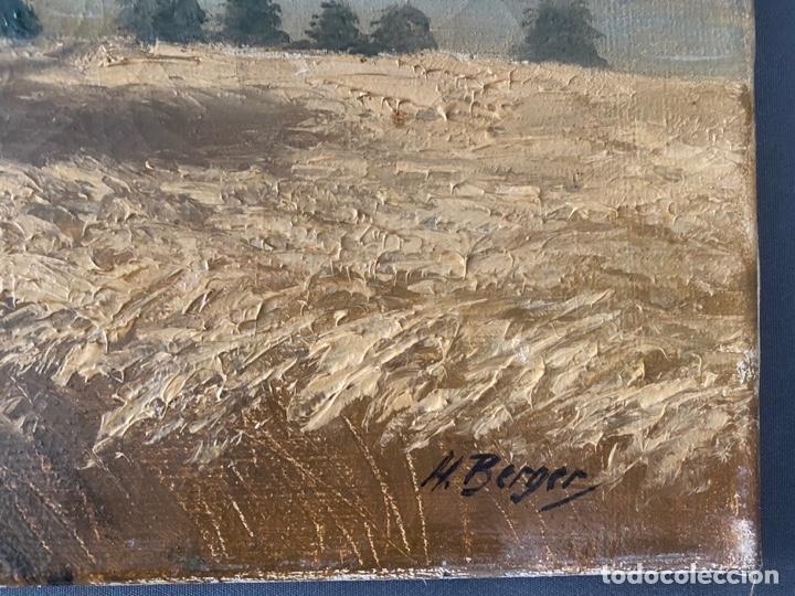 Arte: Hans Berger , SUIZA , ÓLEO LIENZO , SWISS , OIL PAINTING - Foto 7 - 189504738