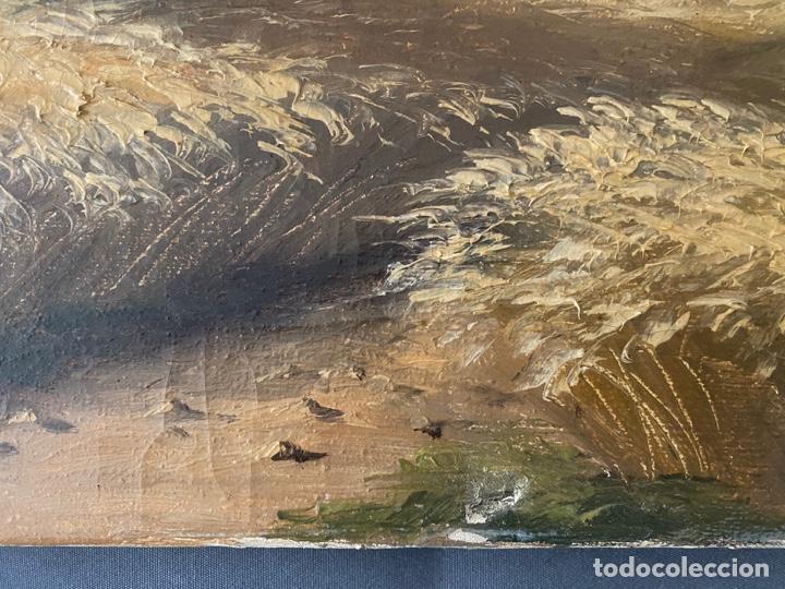 Arte: Hans Berger , SUIZA , ÓLEO LIENZO , SWISS , OIL PAINTING - Foto 8 - 189504738