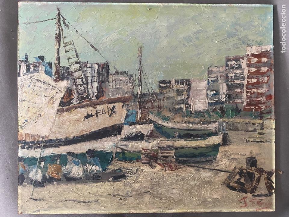 ÓLEO SOBRE TABLA DE JUAN GARCÉS , (Arte - Pintura - Pintura al Óleo Contemporánea )
