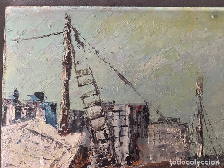 Arte: óleo sobre tabla de juan garcés , - Foto 2 - 195844736