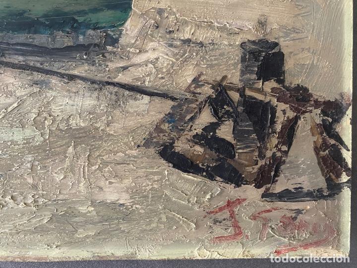Arte: óleo sobre tabla de juan garcés , - Foto 4 - 195844736