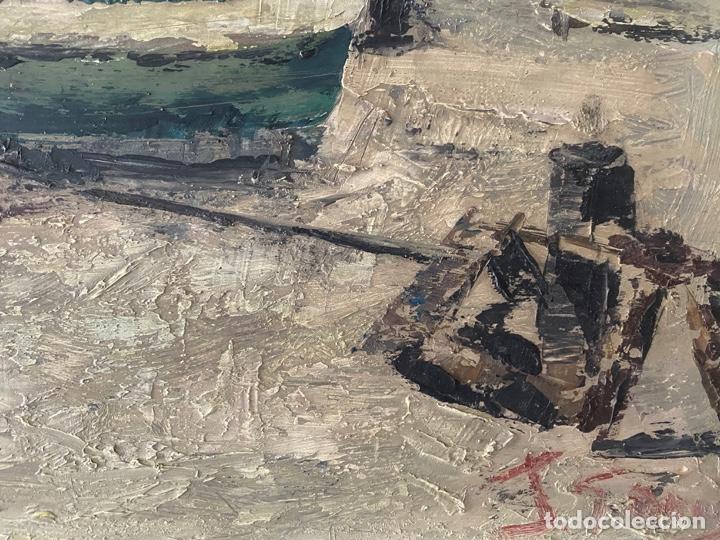 Arte: óleo sobre tabla de juan garcés , - Foto 5 - 195844736