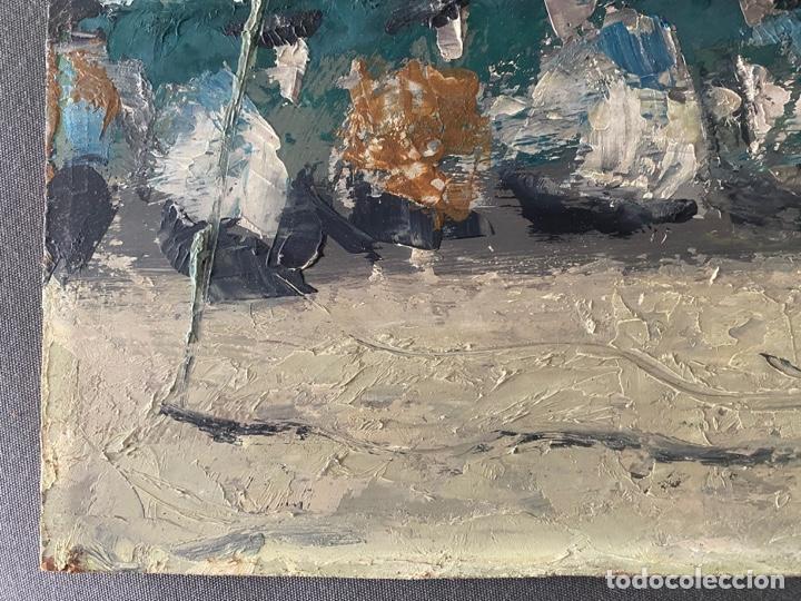 Arte: óleo sobre tabla de juan garcés , - Foto 6 - 195844736