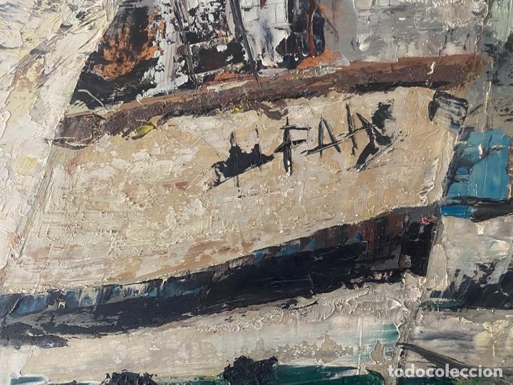 Arte: óleo sobre tabla de juan garcés , - Foto 7 - 195844736