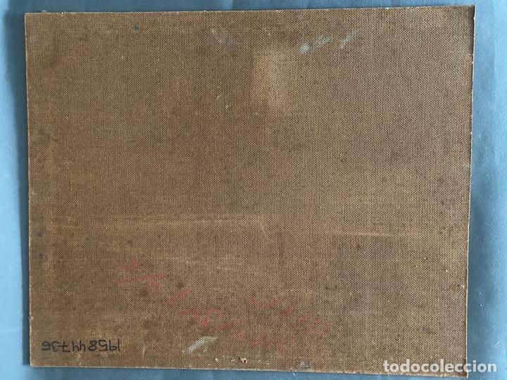 Arte: óleo sobre tabla de juan garcés , - Foto 8 - 195844736