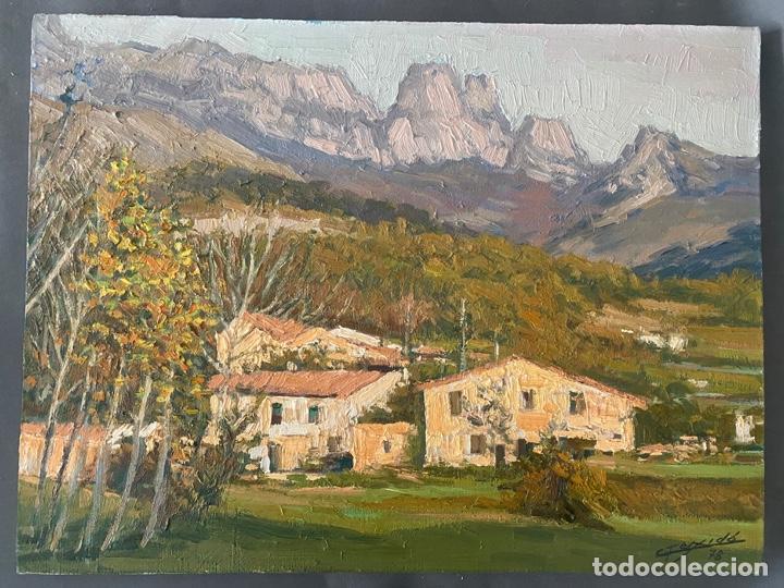 GAIETA TEIXIDÓ , PAISATGE JOANETES 1978 , BARCELONA , ÓLEO SOBRE LIENZO (Arte - Pintura - Pintura al Óleo Contemporánea )