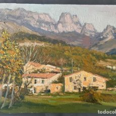 Arte: GAIETA TEIXIDÓ , PAISATGE JOANETES 1978 , BARCELONA , ÓLEO SOBRE LIENZO. Lote 196167956