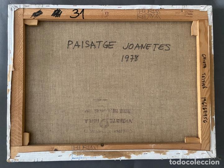 Arte: GAIETA TEIXIDÓ , PAISATGE JOANETES 1978 , BARCELONA , ÓLEO SOBRE LIENZO - Foto 7 - 196167956