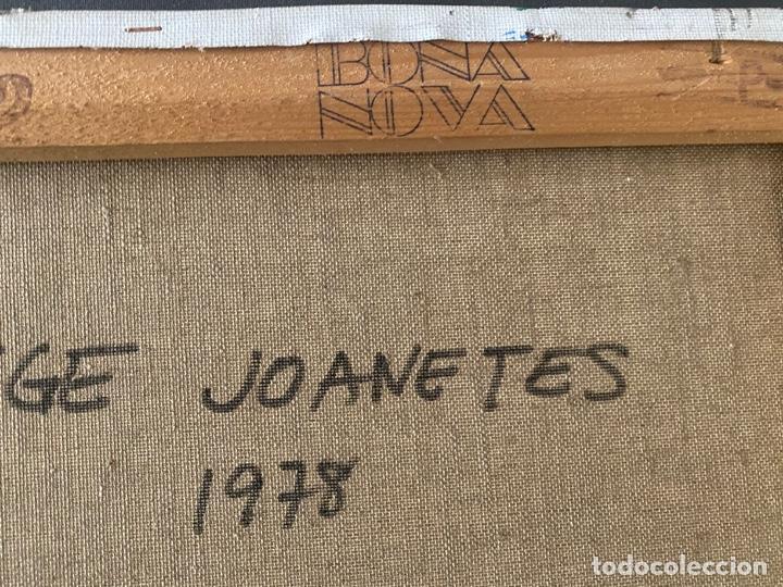 Arte: GAIETA TEIXIDÓ , PAISATGE JOANETES 1978 , BARCELONA , ÓLEO SOBRE LIENZO - Foto 8 - 196167956