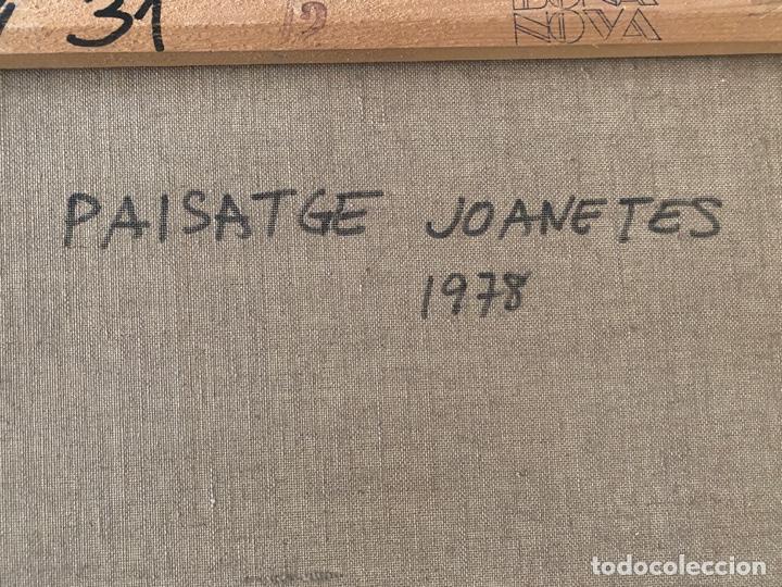 Arte: GAIETA TEIXIDÓ , PAISATGE JOANETES 1978 , BARCELONA , ÓLEO SOBRE LIENZO - Foto 9 - 196167956