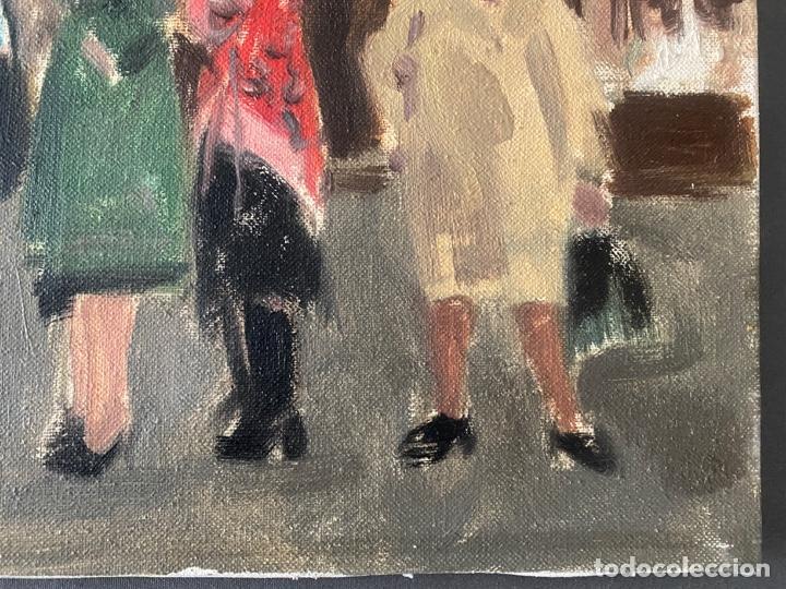 Arte: ANTONI VIVES FIERRO , BARCELONA , ÓLEO SOBRE LIENZO , AÑO 1976 , LONDON - Foto 5 - 196170727