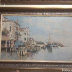 Arte: ÓLEO SOBRE LIENZO PEDRO VENANCIO GASSIS MINONDO (PASAJES DE SAN JUAN 1850 - BURGOS 1896) TEMA MARINA. Lote 210952052