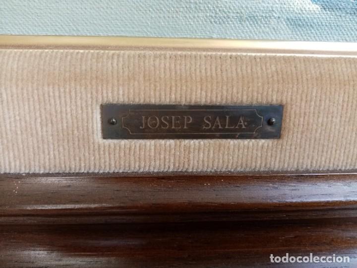 Arte: OLEO JOSEP SALA I LLORENS - MARINA GRANDES DIMENSIONES - Foto 3 - 211463274