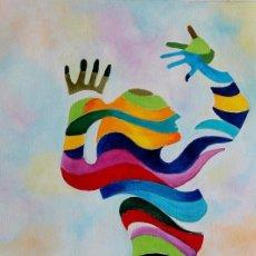 Arte: DANZA EN COLORES OBRA DE GILABERTE. Lote 211650940