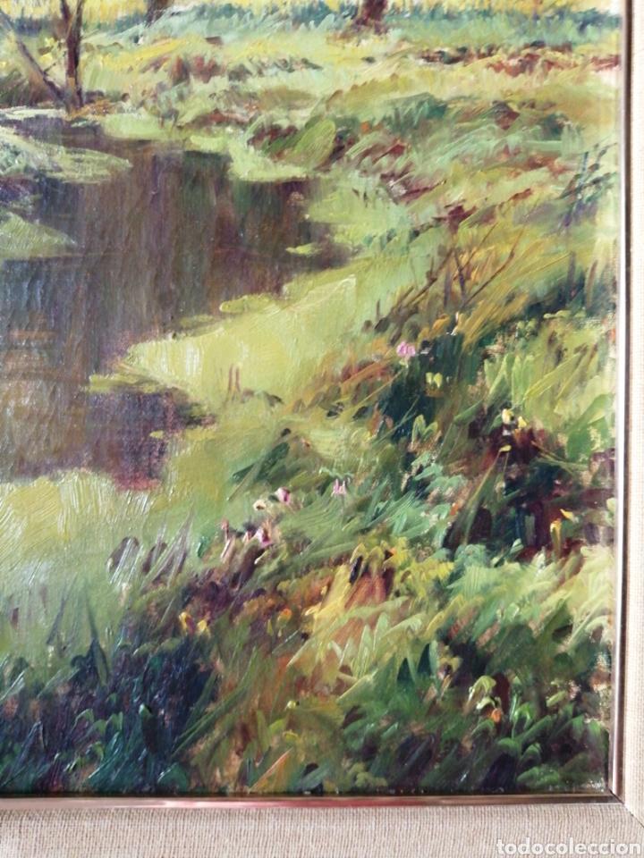 Arte: Cuadro óleo sobre tela firmado C. Vinardell - Foto 3 - 211767735