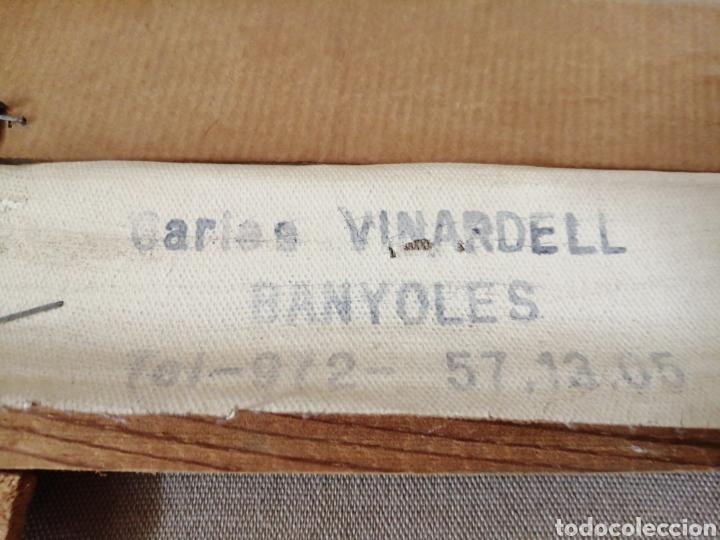Arte: Cuadro óleo sobre tela firmado C. Vinardell - Foto 10 - 211767735
