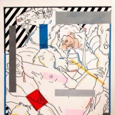 Arte: FERNANDO BELLVER - TÉCNICA MIXTA - AÑOS 80. Lote 211794750