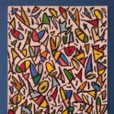 Arte: SERGI BARNILS : ORIGINAL MIXTA - PAPEL 32 X 46 CMS.. Lote 211869200