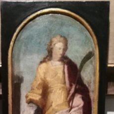 Arte: SANTA BÁRBARA. ESCUELA ITALIANA DEL S.XVI.. Lote 211876576