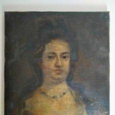 Arte: RETRATO DE MUJER, FINALES DEL SIGLO XVIII. Lote 212489626