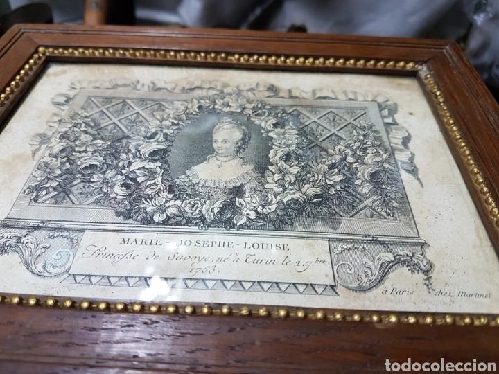 Arte: Grabados de la corte europea muy antiguos 1755 - Foto 2 - 212521513