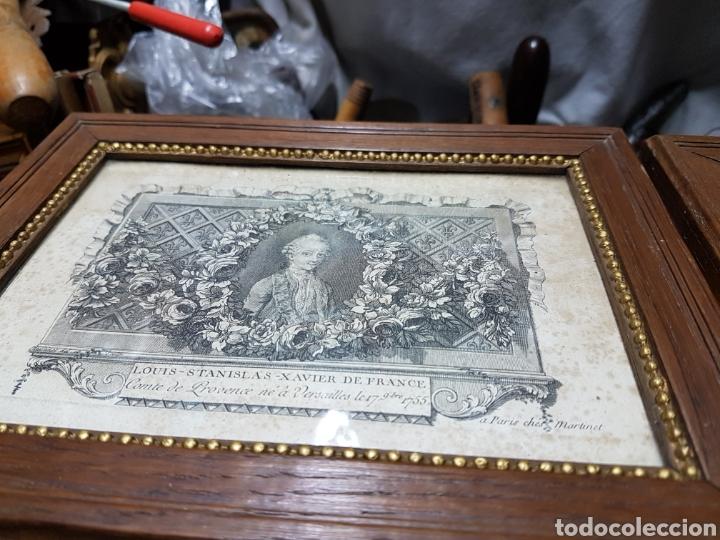 Arte: Grabados de la corte europea muy antiguos 1755 - Foto 3 - 212521513