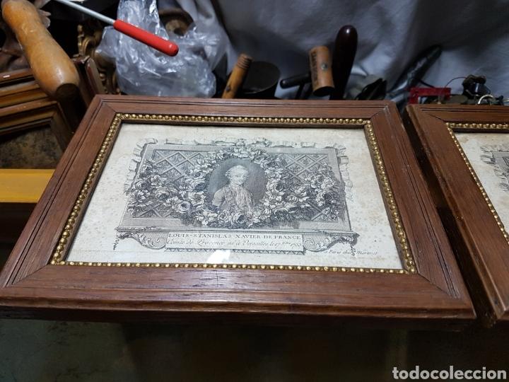 GRABADOS DE LA CORTE EUROPEA MUY ANTIGUOS 1755 (Arte - Pintura - Pintura al Óleo Antigua siglo XVIII)