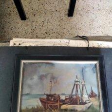 Arte: OLEO SOBRE TELA - FDO JACQUES LIEVEN ALLAERT - SCHELDEBOCHT. Lote 212587232