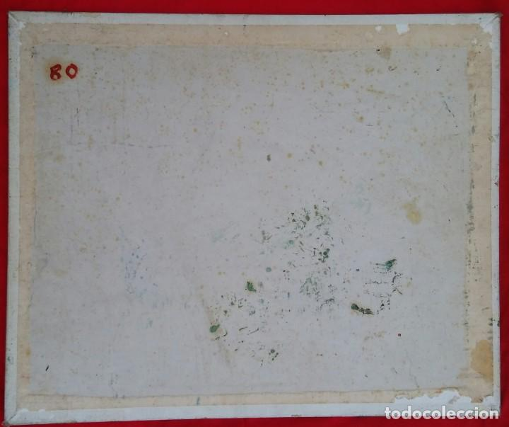 Arte: VALLDEMOSSA (Mallorca) - ÓLEO SOBRE CARTON - FIRMA: PALLICER- 46 cm x 38 cm ( 8 F) - - Foto 3 - 212605220