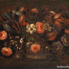 Arte: PAREJA DE FLOREROS JOSE DE ARELLANO (MADRID 1665-CIRCA 1710) . EX BONHAMS. Lote 212727111