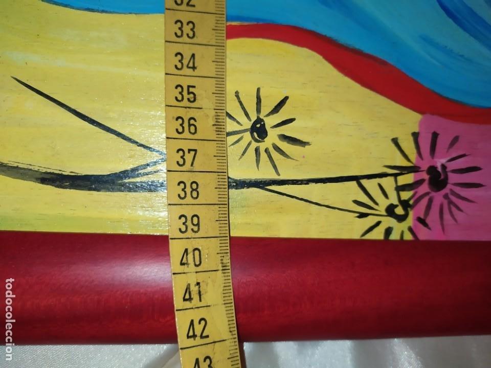 Arte: LOTE OLEO SOBRE TABLA CHICA GUAPA GEISA CHARLES CHAPLIN ENMARCADO FIRMADOS ÁFRICA PRECIOSOS - Foto 7 - 212736528
