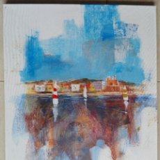 Arte: TOMÀS SUNYOL (DIEULEFIT, 1.964) - ACRÍLICO S/ TELA 65 X 54,5 - SUÑOL. Lote 212739687