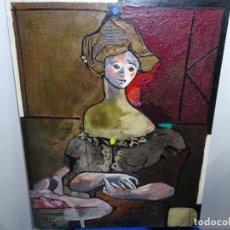 Arte: GRAN ÓLEO DE MIQUEL TORNE DE SAMIR.1995.MEDITERRANIA.. Lote 212808655