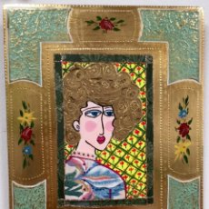 Arte: PENSANDO EN LAS MUSARAÑAS II OBRA DE RUTH CALDERÍN (LAS PALMAS DE GRAN CANARIA 1977). Lote 212935176