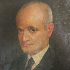 Arte: RETRATO, ÓLEO SOBRE LIENZO. JOSE MARÍA MARQUES. 1923, MEDIDAS LIENZO 50X39 CM. Lote 212962737
