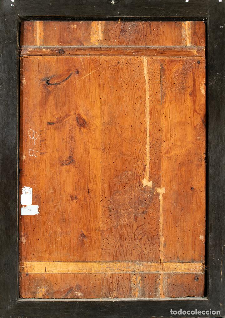 Arte: Óleo tabla Ángeles Niños Francisco Rizi Madrid 1608 - San Lorenzo del Escorial 1685 - Foto 6 - 213121976