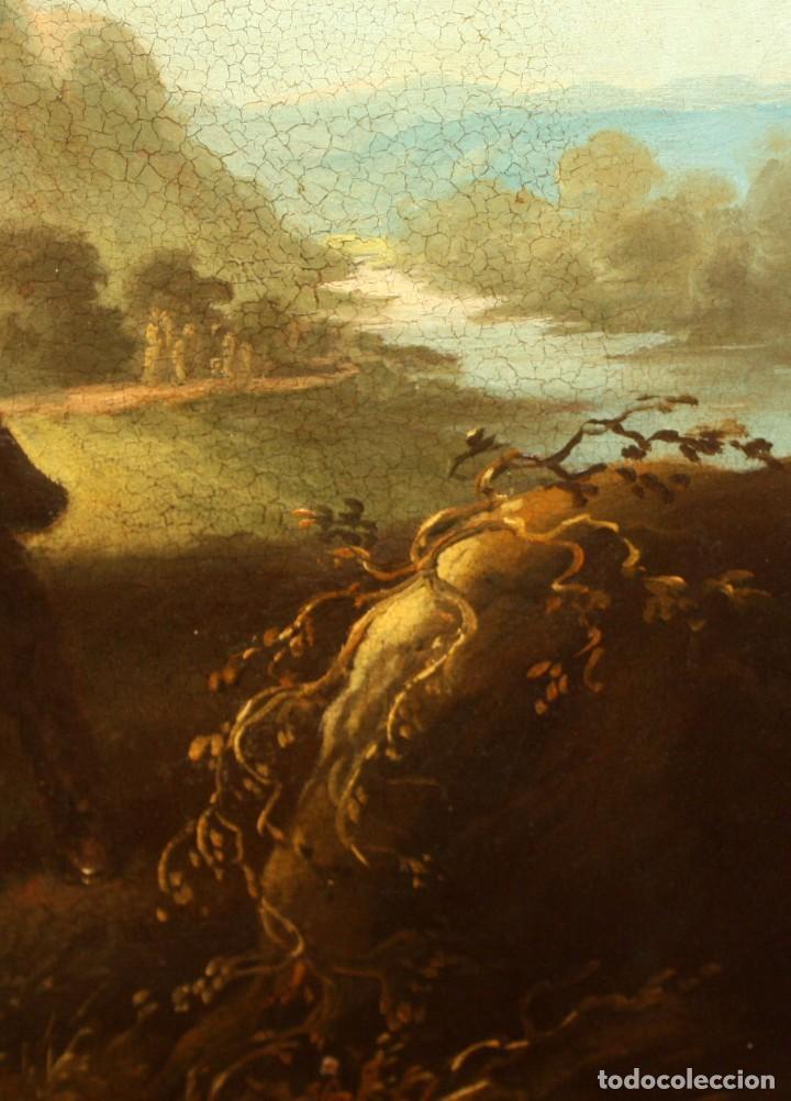 Arte: A. DOLS. OLEO SOBRE TELA DE LA 1ª MITAD DEL SIGLO XX. OLEO SOBRE TELA. ESCENA CAMPESTRE - Foto 14 - 213241911