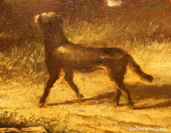 Arte: A. DOLS. OLEO SOBRE TELA DE LA 1ª MITAD DEL SIGLO XX. OLEO SOBRE TELA. ESCENA CAMPESTRE - Foto 15 - 213241911